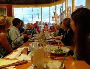 SMMCP Participant Dinner at the Pittsboro Roadhouse, fall 2013.