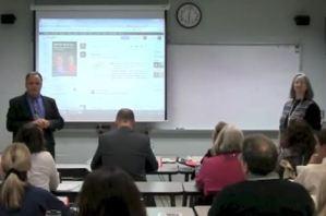 Martin Brossman teaching at the NCSU McKimmon Center.