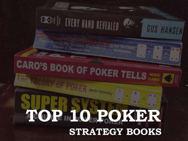 Top 10 Poker Strategy Books