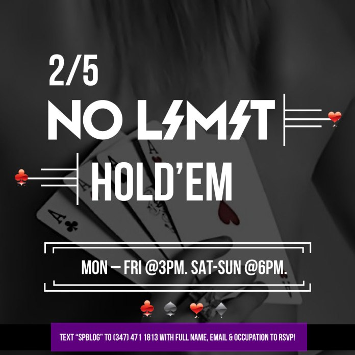 2/5 No Limit hold'em