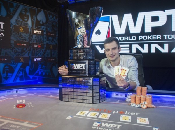Vlad Darie Captures Partypoker WPT Vienna Title coveted seat into the WPT Tournament of Champions.