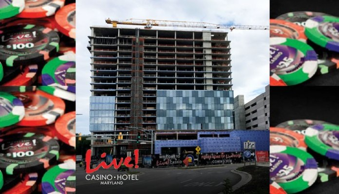 Maryland Live! closer to completing new hotel complex