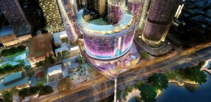 Construction of A$3-Billion Brisbane Casino Resort Officially Under Way