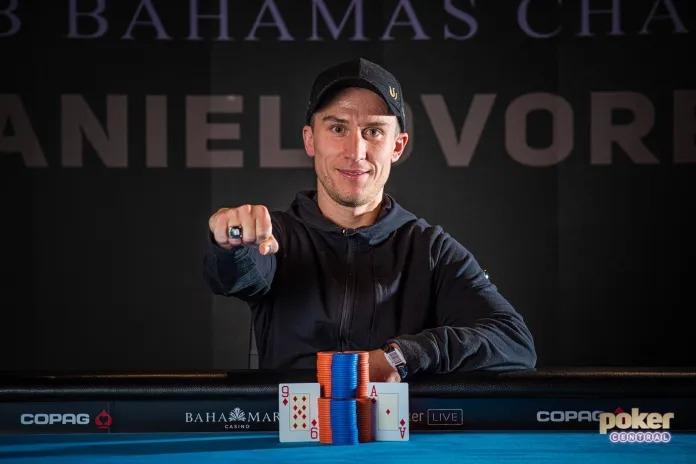 Daniel Dvoress Wins $250,000 Buy-In Super High Roller Bowl Bahamas