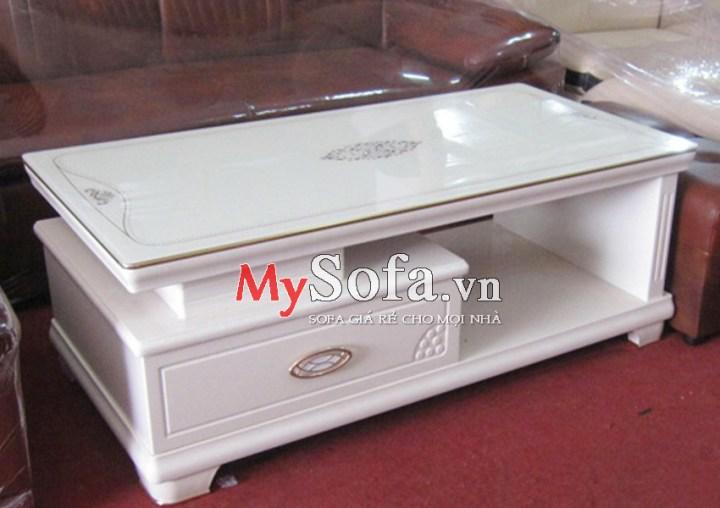 Mẫu bàn trà Sofa nhập khẩu sang trọng   mySofa.vn