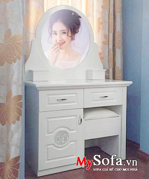 mẫu bàn trang điểm đẹp nhỏ xinh AmiA – BTD1005 là sự lựa chọn hoàn hảo cho không gian căn phòng ngủ nhỏ!
