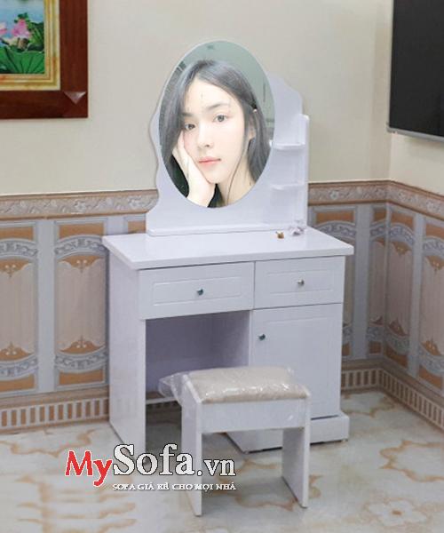 Mẫu bàn trang điểm đẹp giá rẻ AmiA BTD1007 | mySofa.vn