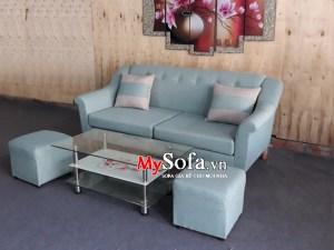 Ghế Sofa văng mini chất liệu nỉ AmiA SFV155