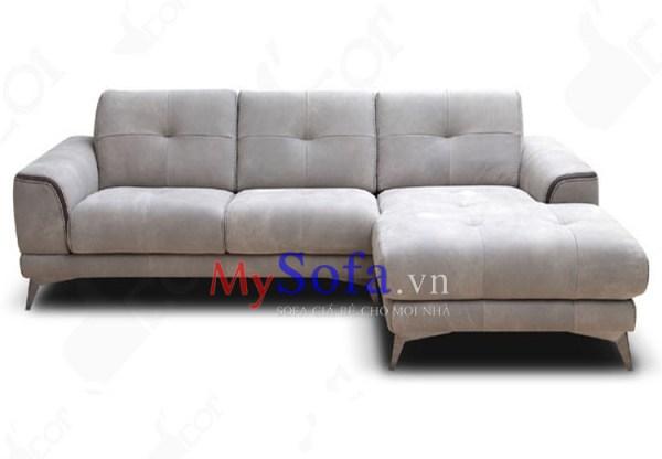 Mẫu ghế Sofa da góc chữ L hiện đại AmiA SFD192