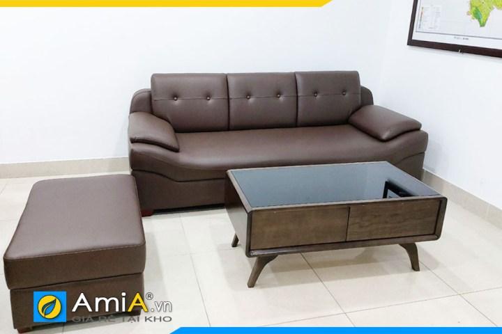 Hình ảnh mẫu ghế sofa văng đẹp giá rẻ AmiA099