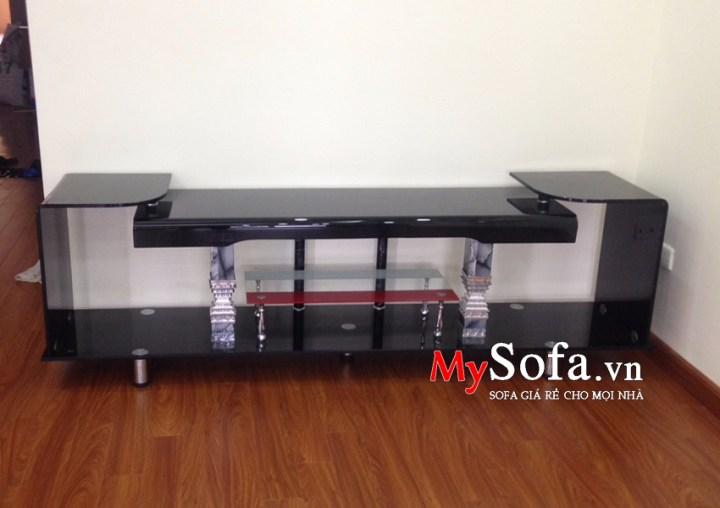 Kệ kính tivi góc kích thước dài 2m AmiA KTV217 | mySofa.vn