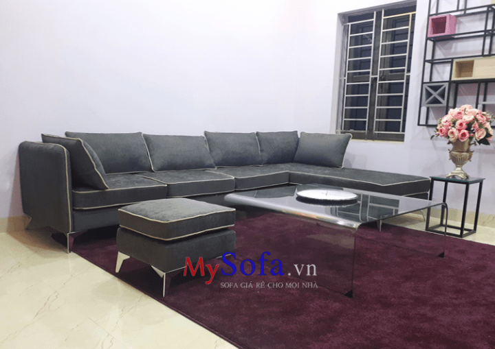 Mẫu ghế Sofa nỉ hiện đại AmiA SFN191