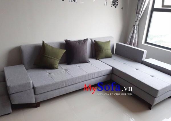 Mẫu ghế Sofa nỉ phòng khách giá rẻ AmiA SFN129