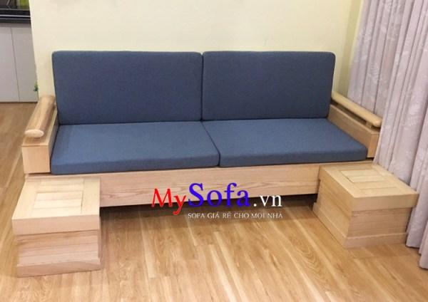 Ghế Sofa văng gỗ đẹp, hiện đại AmiA SFG194