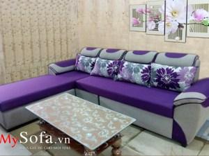Mẫu Sofa nỉ đẹp cho phòng khách AmiA SFN016