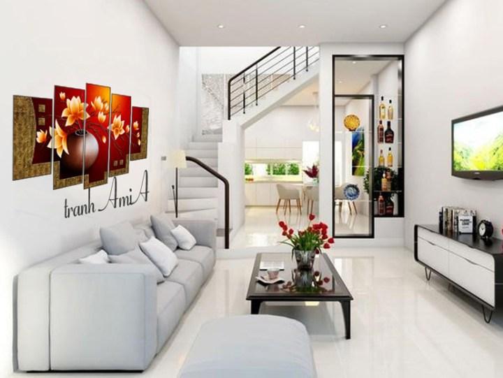 Sofa phòng khách nhà ống đẹp