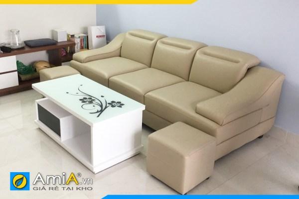 Hình ảnh mẫu ghế sofa nhỏ cho phòng khách