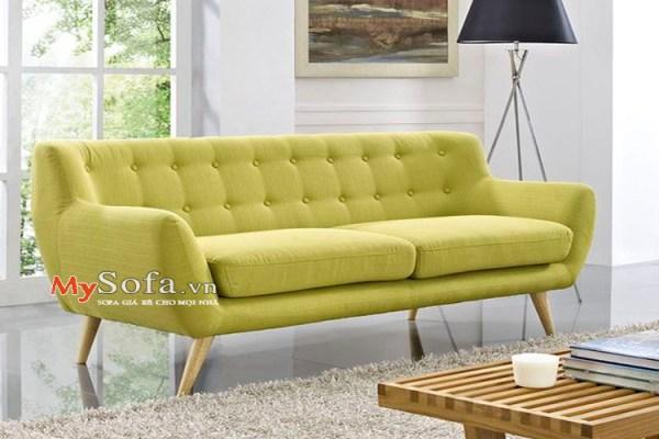 mẫu sofa văng nỉ giá rẻ cho phòng khách amia sfn163