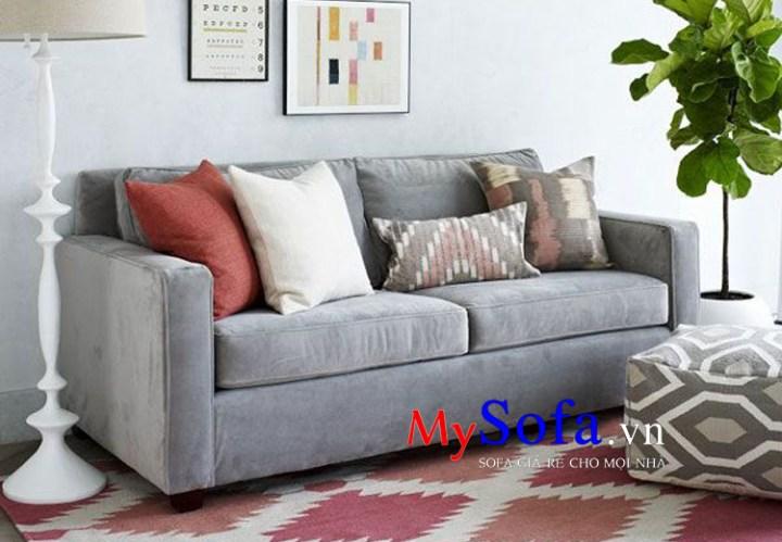 Mẫu Sofa văng nỉ đẹp giá rẻ AmiA SFV055