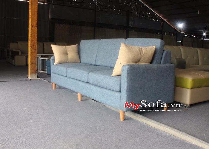 Mẫu sofa văng nỉ đẹp và sang trọng AmiA SFN189