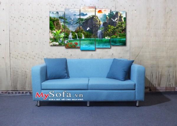Sofa văng nỉ AmiA SFN187 kích thước nhỏ cho phòng khách