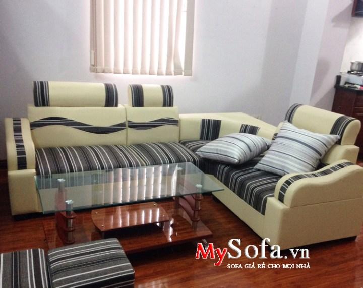 Sofa giá rẻ dưới 3 triệu kê phòng khách nhỏ