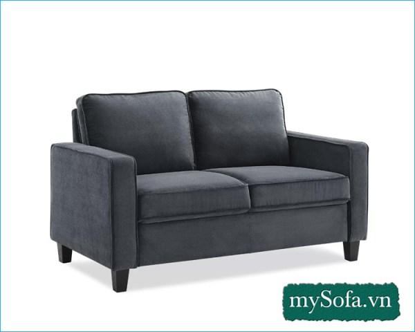 Ghế sofa văng nhỏ mini màu ghi MyS-2310