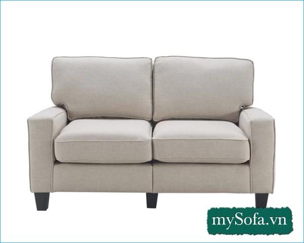 Ghế sofa nỉ màu kem MyS-2311