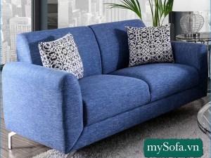 Hình ảnh Sofa văng mini đẹp giá rẻ cho phòng khách nhỏ MyS-18302