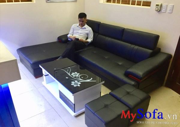 Sofa màu đen hợp người mệnh Mộc