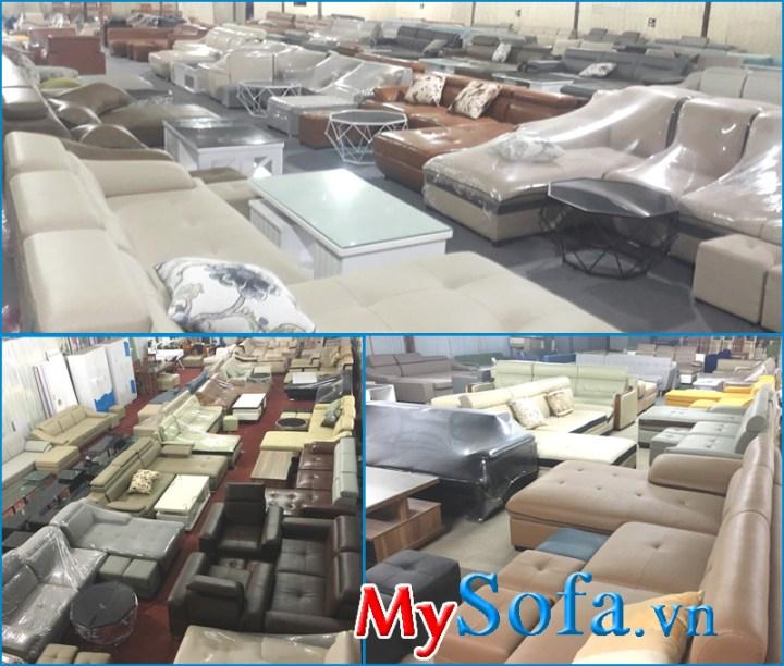 Xưởng sản xuất ghế sofa giá rẻ Hà Nội
