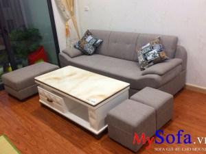 Sofa văng nỉ giá rẻ cho nhà chung cư AmiA SFN099