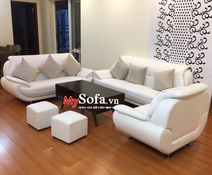 Bộ ghế sofa đẹp sang trọng kê phòng giám đốc công ty