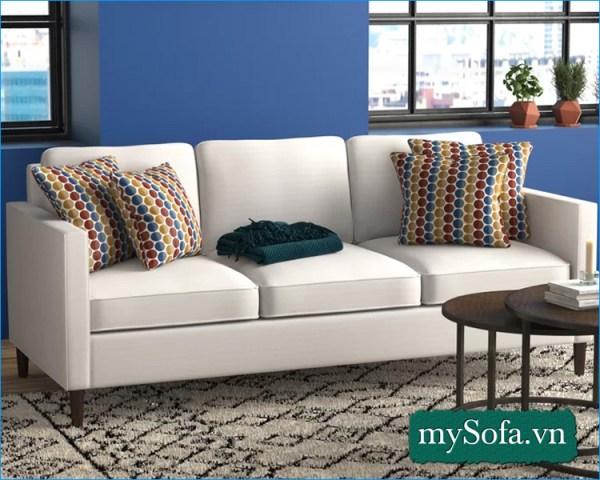 mẫu ghế sofa hiện đại phòng khách nhỏ hẹp MyS-19298