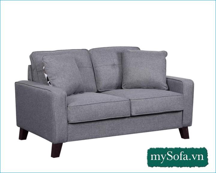 mẫu ghế sofa văng nỉ đẹp