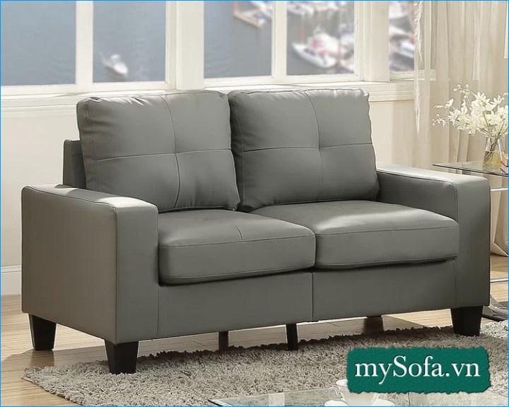 mẫu ghế sofa 2 chỗ ngồi giá rẻ nhỏ gọn