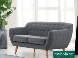 mẫu ghế sofa văng nhỏ xinh MyS-19099