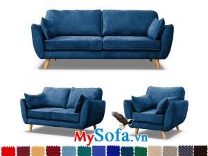 ghế sofa nỉ văng đẹp mới lạ trẻ trung