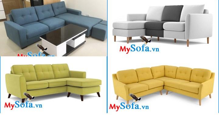 Các mẫu ghế sofa góc chữ L đẹp