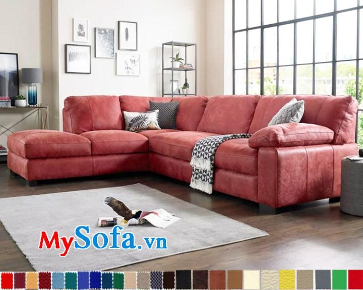 Sofa phòng khách trẻ trung snag trọng
