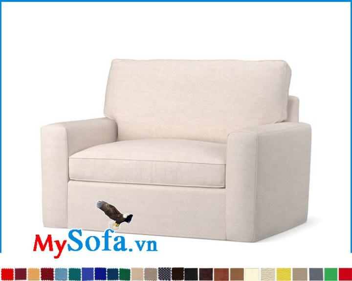 Ghế đơn 1 chỗ đẹp hợp kê làm sofa phòng ngủ