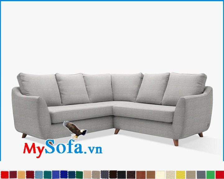 Ghế sofa góc đẹp thiết kế hiện đại