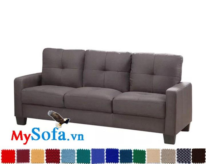 ghế sofa da văng cực đẹp loại 3 chỗ cho phòng khách hiện đại