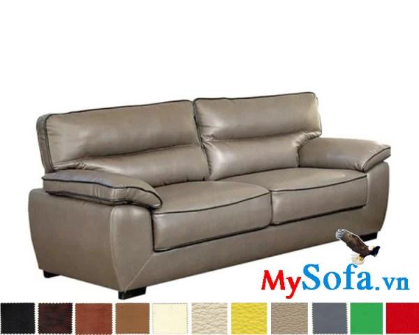 mẫu sofa da cực êm ái và sang trọng