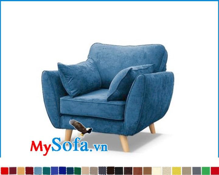 Mẫu gế đơn đẹp làm sofa phòng ngủ cực hợp