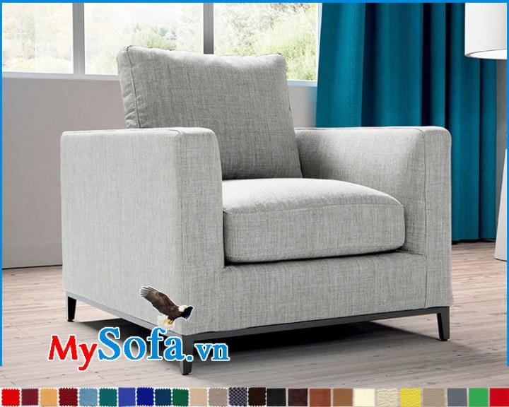 Mẫu ghế đẹp dạng sofa đơn nhỏ