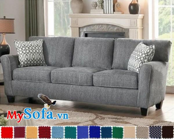 MyS 0619033 là mẫu sofa văng cho phòng khách nhỏ có thiết kế hiện đại