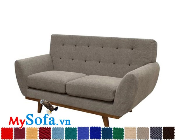 MyS 0619083 làm bằng chất liệu nỉ là dòng sản phẩm sofa văng thiết kế mới lạ trẻ trung