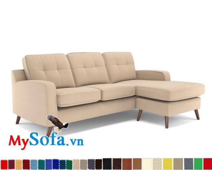 Mẫu sofa đẹp cho nhà chung cư hiện đại