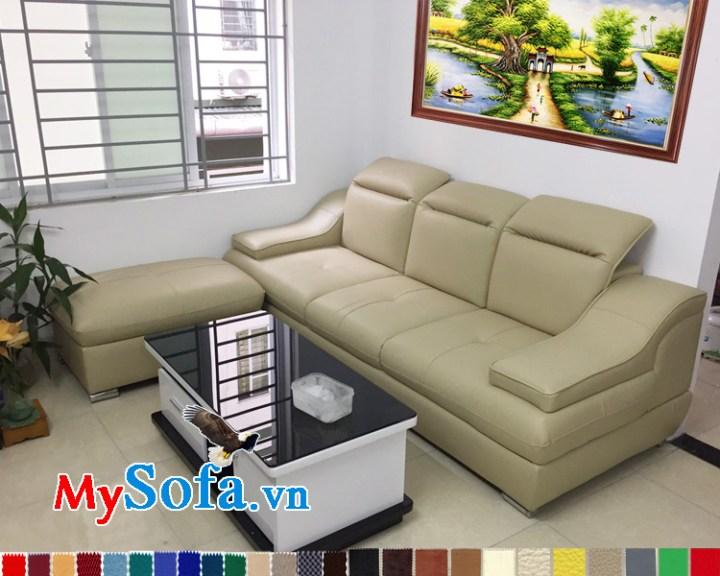 Sofa cho phòng khách chung cư nhỏ giá rẻ